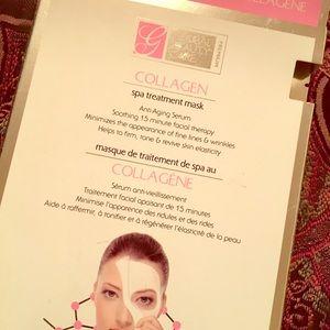 Collagen spa treatment mask
